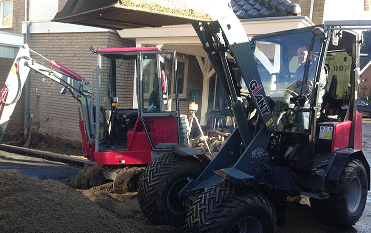 grondwerk machines kok hoorn